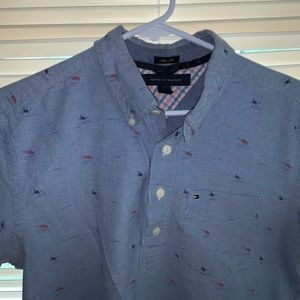 Tommy Hilfiger collard shirt